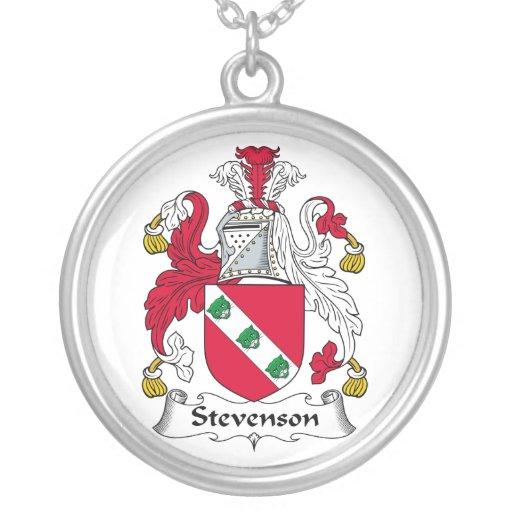 Escudo de la familia de Stevenson Colgante Redondo