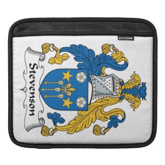 Escudo de la familia de Stevenson Funda Para iPads