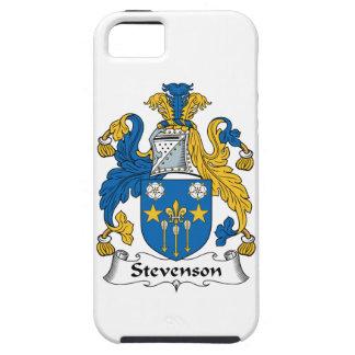 Escudo de la familia de Stevenson iPhone 5 Funda