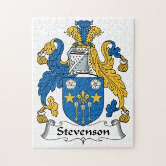 Escudo de la familia de Stevenson Puzzles Con Fotos