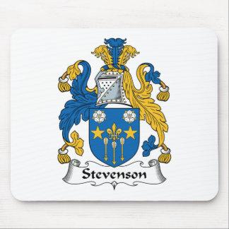 Escudo de la familia de Stevenson Tapetes De Ratón