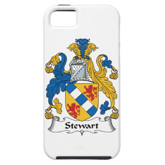 Escudo de la familia de Stewart iPhone 5 Protectores