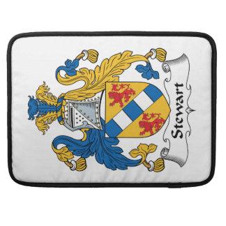 Escudo de la familia de Stewart Funda Macbook Pro