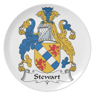 Escudo de la familia de Stewart Platos