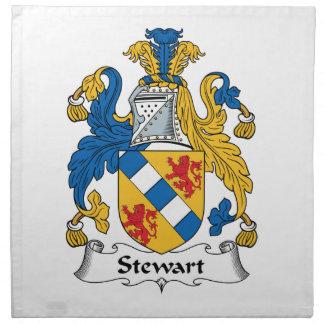 Escudo de la familia de Stewart Servilleta De Papel