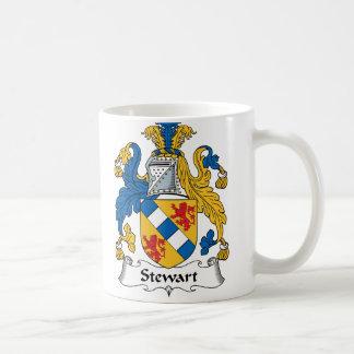 Escudo de la familia de Stewart Taza