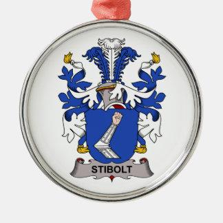 Escudo de la familia de Stibolt Ornamento Para Reyes Magos