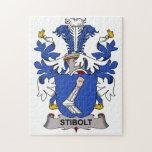Escudo de la familia de Stibolt Rompecabezas Con Fotos