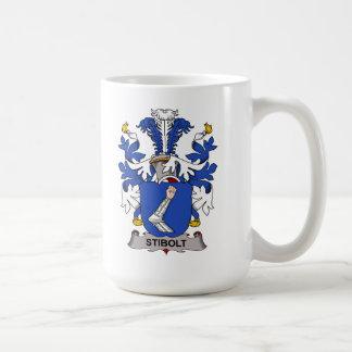 Escudo de la familia de Stibolt Tazas