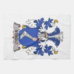 Escudo de la familia de Stibolt Toalla De Cocina