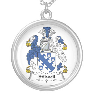 Escudo de la familia de Stilwell Colgante Redondo