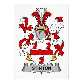 Escudo de la familia de Stinton Anuncio