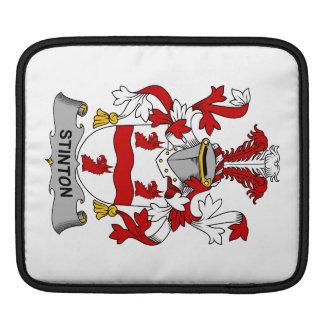 Escudo de la familia de Stinton Mangas De iPad
