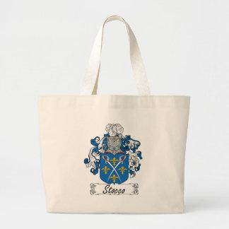 Escudo de la familia de Stocco Bolsas De Mano