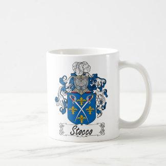 Escudo de la familia de Stocco Taza De Café