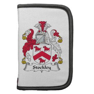 Escudo de la familia de Stockley Planificadores