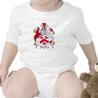 Escudo de la familia de Stockley Traje De Bebé