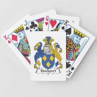 Escudo de la familia de Stockport Baraja