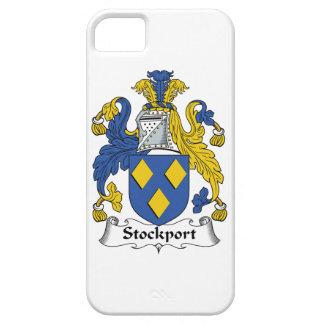 Escudo de la familia de Stockport iPhone 5 Carcasas