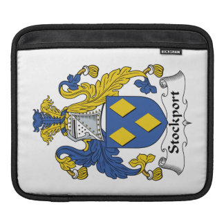 Escudo de la familia de Stockport Fundas Para iPads