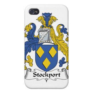 Escudo de la familia de Stockport iPhone 4 Coberturas