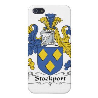 Escudo de la familia de Stockport iPhone 5 Coberturas