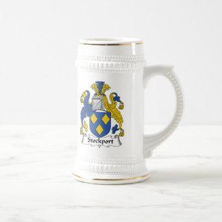 Escudo de la familia de Stockport Taza De Café