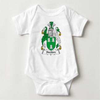 Escudo de la familia de Stockton Body Para Bebé