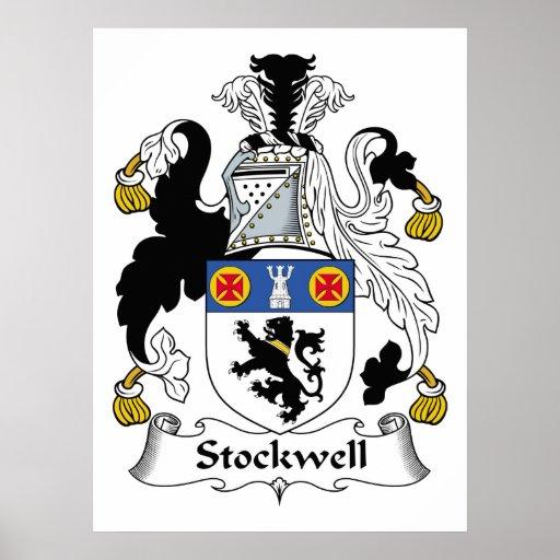 Escudo de la familia de Stockwell Impresiones