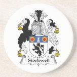 Escudo de la familia de Stockwell Posavasos Manualidades