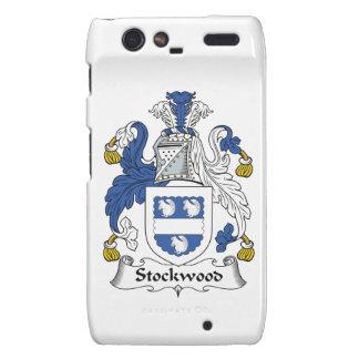 Escudo de la familia de Stockwood Motorola Droid RAZR Funda