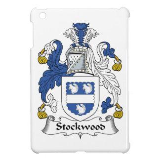 Escudo de la familia de Stockwood iPad Mini Protectores