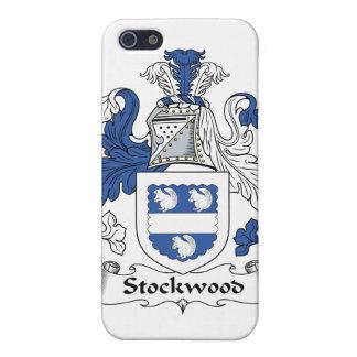 Escudo de la familia de Stockwood iPhone 5 Coberturas