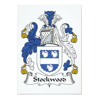 Escudo de la familia de Stockwood Comunicado Personal