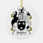 Escudo de la familia de Stoddart Adornos