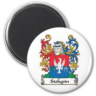 Escudo de la familia de Stolypin Imán Redondo 5 Cm