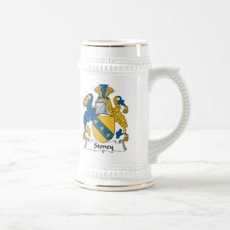 Escudo de la familia de Stoney Jarra De Cerveza