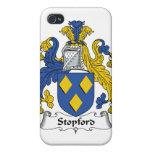 Escudo de la familia de Stopford iPhone 4 Protectores