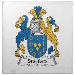 Escudo de la familia de Stopford Servilleta