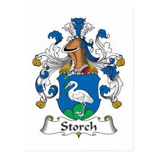 Escudo de la familia de Storch Postal
