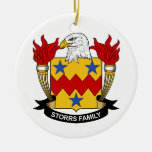 Escudo de la familia de Storrs Ornamentos De Reyes Magos