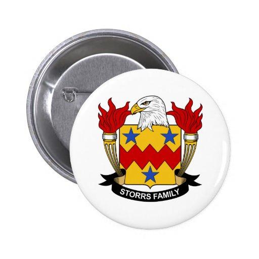 Escudo de la familia de Storrs Pin