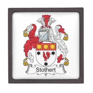 Escudo de la familia de Stothert Caja De Joyas De Calidad