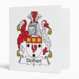 """Escudo de la familia de Stothert Carpeta 1"""""""
