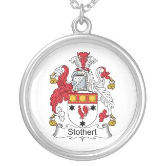 Escudo de la familia de Stothert Colgante Redondo