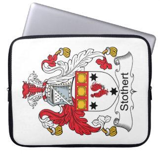 Escudo de la familia de Stothert Funda Ordendadores