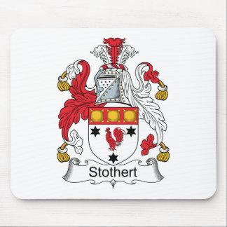 Escudo de la familia de Stothert Mousepad