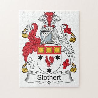 Escudo de la familia de Stothert Puzzle