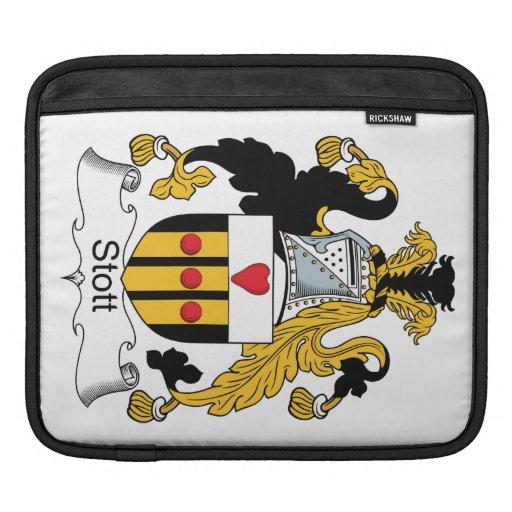 Escudo de la familia de Stott Funda Para iPads