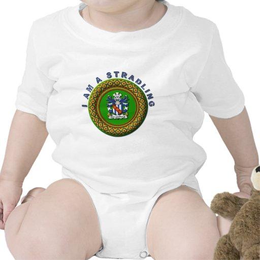 Escudo de la familia de Stradling con MÍ SOY Un Trajes De Bebé